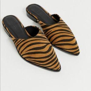 ASOS DESIGN Mico mules in tiger print (6)